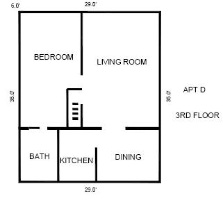 1325D floor layout