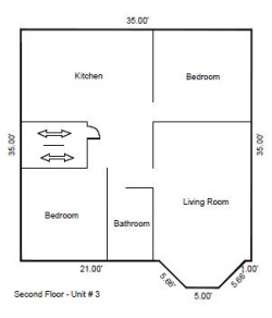 1327C floor layout